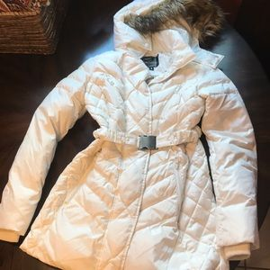 Sam Edelman white down jacket
